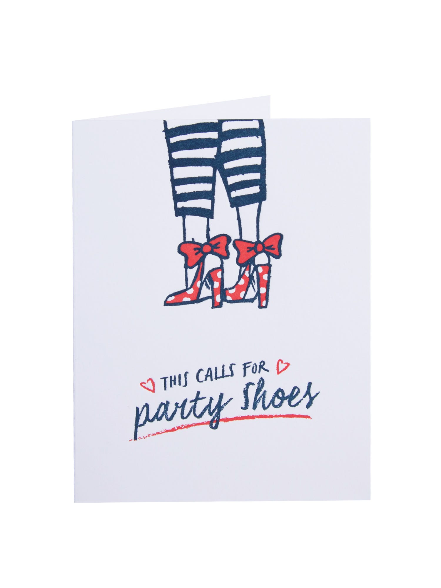Perfect Party Shoes <p>Celebrate your favourite friend or family member's Birthday in style with this gorgeous Marcel Schurman Birthday Card.</p><p>The stylish lady is wearing her sensational scarlet shoes for the perfect party occasion.</p><p>Includes a red envelope.</p>