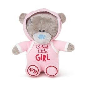 """Me to You Tiny Tatty Teddy Pink Cutest Girl 5"""" Soft Toy"""