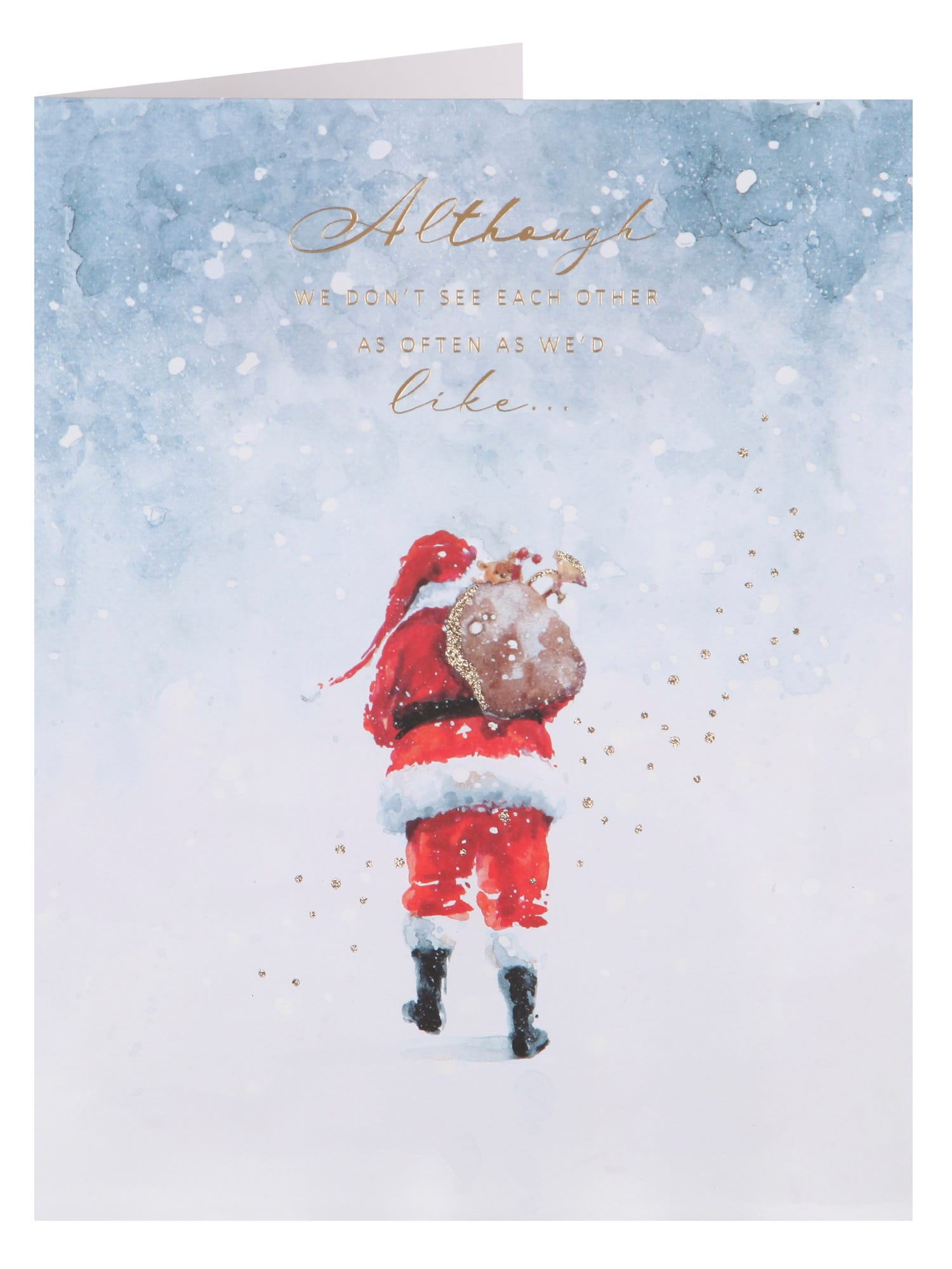Thought About Christmas Card <p> Wish them a very Merry Christmas and a Happy New Year with this is wonderful  card.</p>