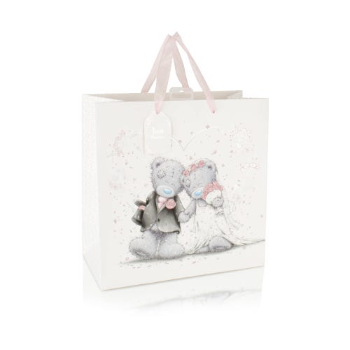Me to You Just Married Large Wedding Gift Bag