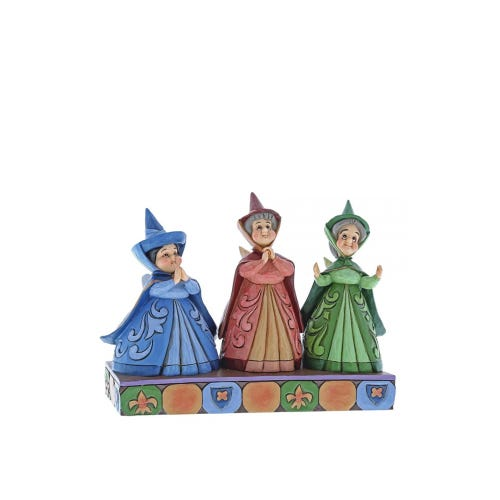 Disney Traditions Three Fairies Figurine