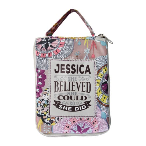 Jessica Top Lass Tote Bag