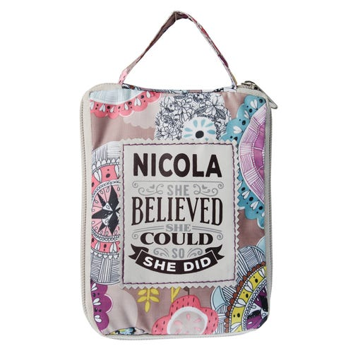 Nicola Top Lass Tote Bag