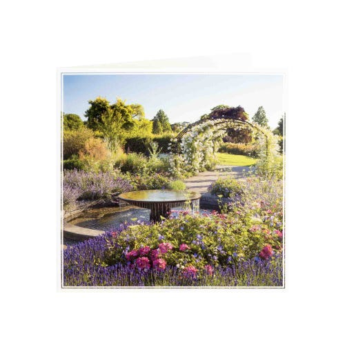 RHS Water Feature Blank Card