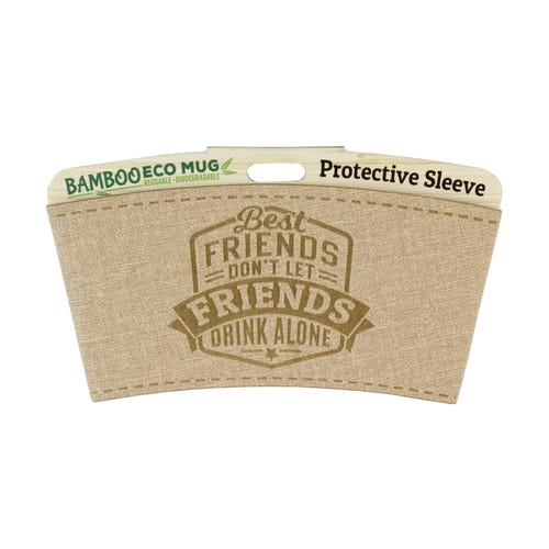Best Friend Protective Sleeve For Bamboo Mug