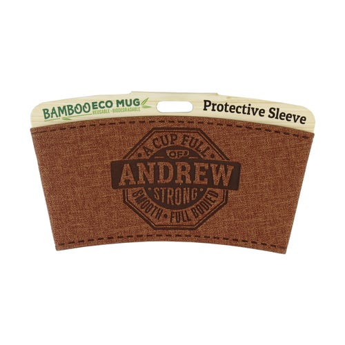 Andrew Protective Sleeve For Bamboo Mug