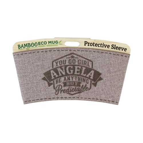 Angela Protective Sleeve For Bamboo Mug