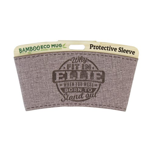 Ellie Protective Sleeve For Bamboo Mug
