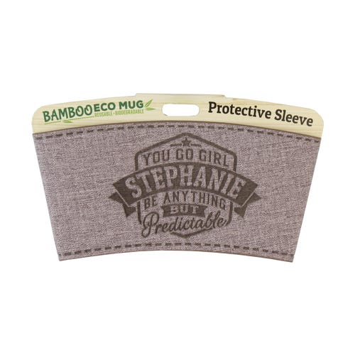 Stephanie Protective Sleeve For Bamboo Mug