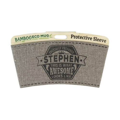 Stephen Protective Sleeve For Bamboo Mug