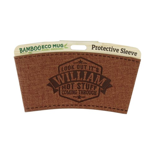 William Protective Sleeve For Bamboo Mug