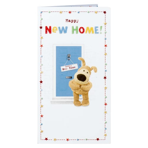 Boofle New Home Card
