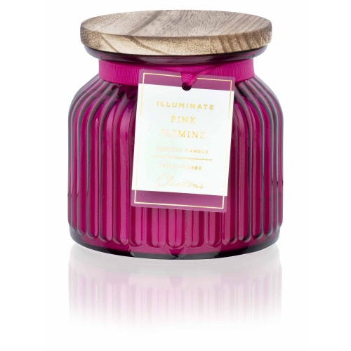 Pink Jasmine Large Illuminate Candle