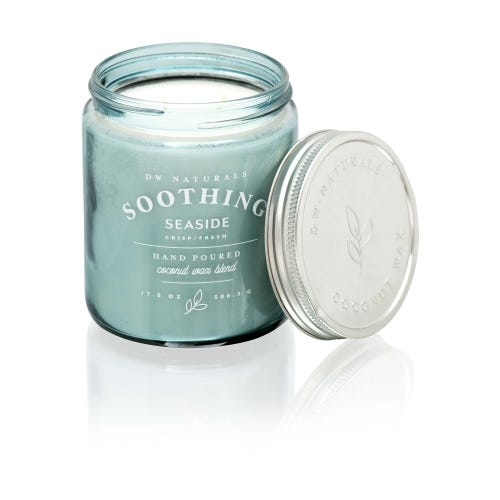 18oz Soothing Seaside DW Naturals Candle