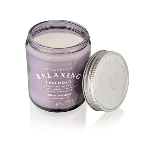 6.4oz Relaxing Lavender DW Naturals Candle