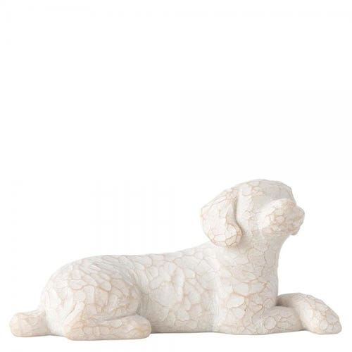 Willow Tree Love My Dog (Small, Lying) Figurine