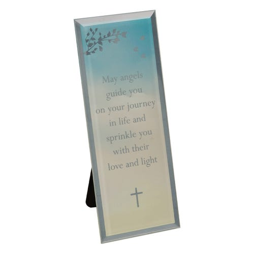 Angels Reflection Christening Plaque