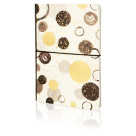 Monochrome Spot Luxury A5 Notebook