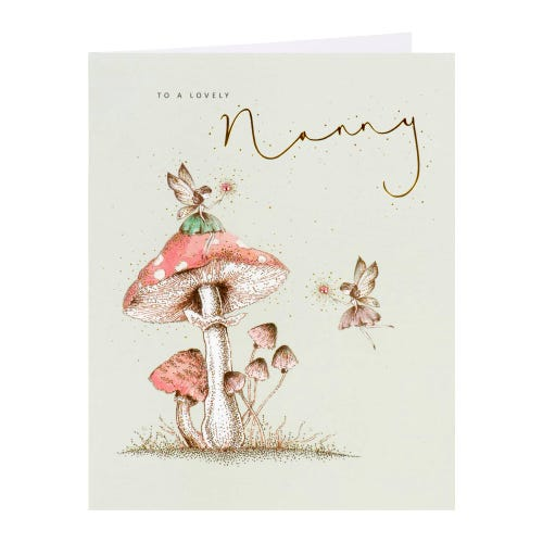 Fairies Nanny Mother's Day Card
