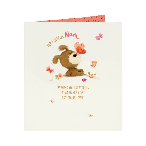 Lots of Woof Nan Mother's Day Card