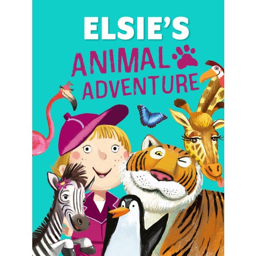 Elsie's Animal Adventure Book