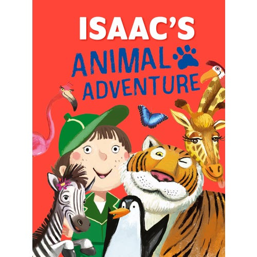 Isaac's Animal Adventure Book
