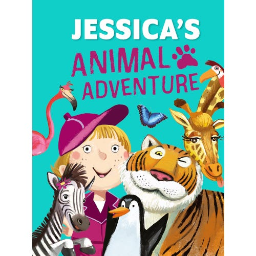 Jessica's Animal Adventure Book