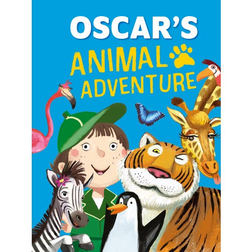 Oscar's Animal Adventure Book