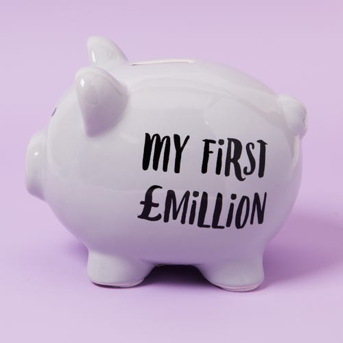 My First Million Pig Money Bank