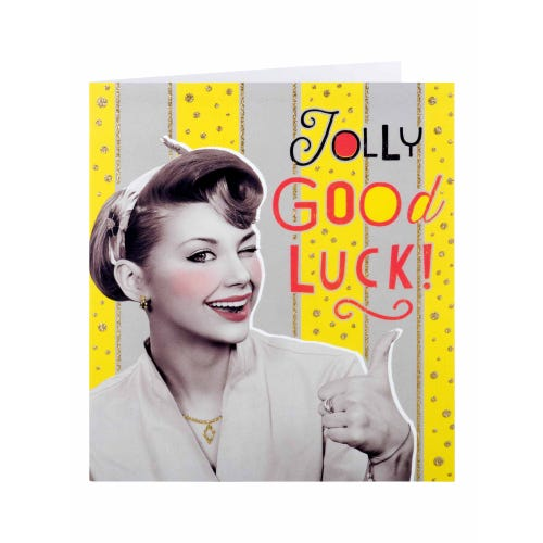Jolly Good Luck Card