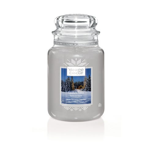 LARGE JAR CANDLELIGHT CABIN