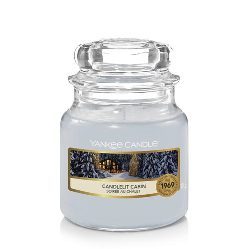 SMALL JAR CANDLELIGHT CABIN
