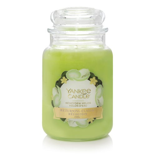 Yankee Candle Large Jar Honeydew Melon
