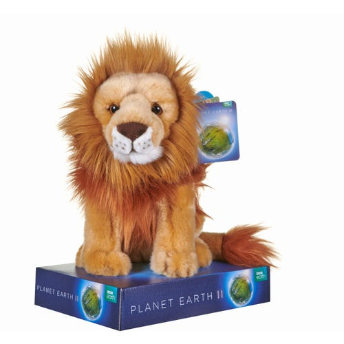 BBC Planet Lion 10 Inch Soft Toy