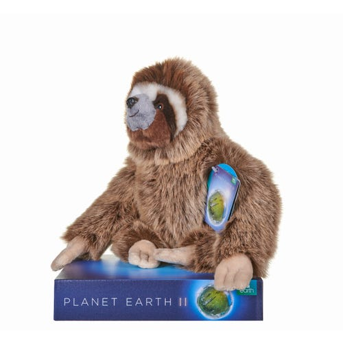 BBC Planet Sloth 10 Inch Soft Toy
