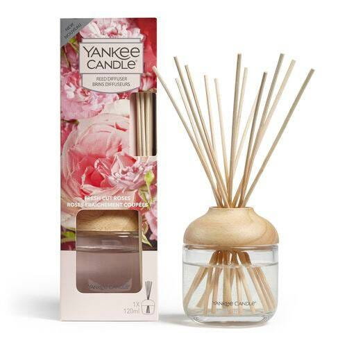 Yankee Candle Fresh Cut Roses Reed Diffuser