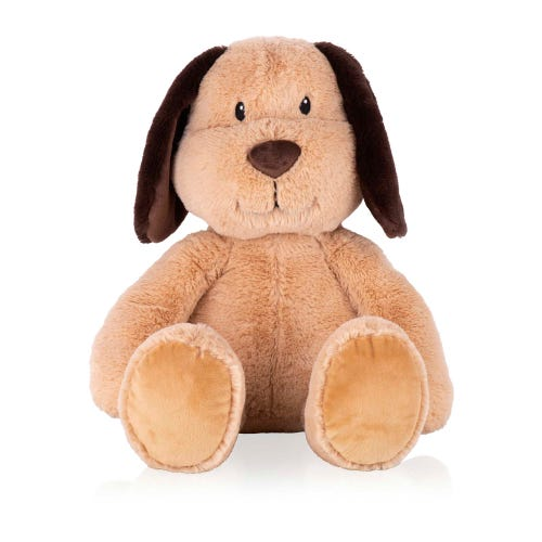 Floppy Ear Dog Valentine's Soft Toy