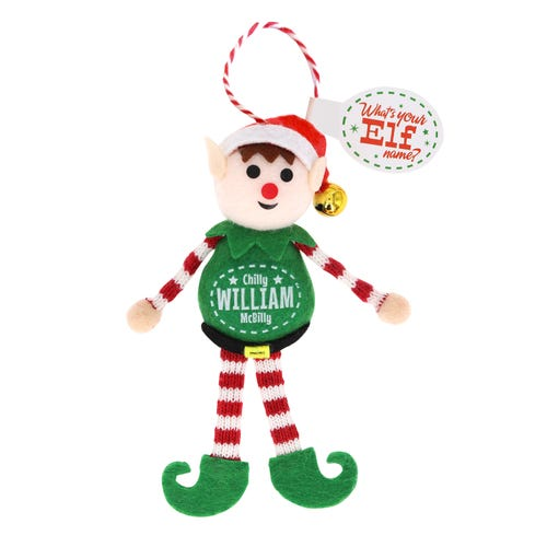 Elf Decoration - William