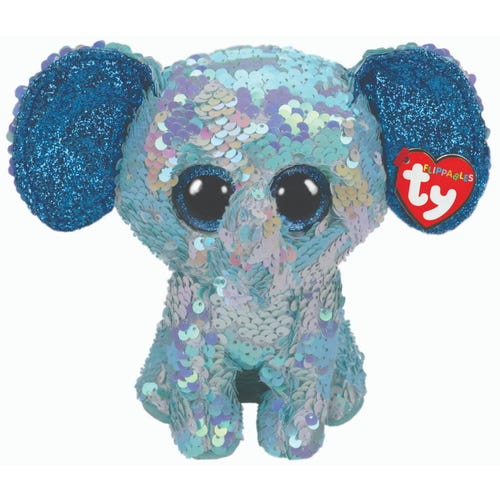 TY Stuart Flippable Beanie Boo Medium