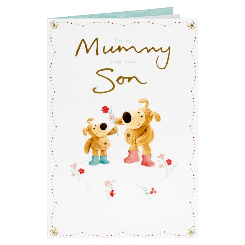Boofle Mummy From Son Mother's Day Card