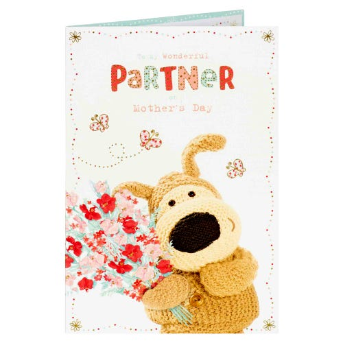 Boofle To Partner Mother's Day Card