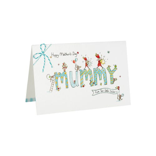 From Little Soldier Mummy Mother's Day Card