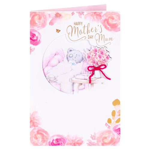 Snuggling Tatty Mothers Day Card