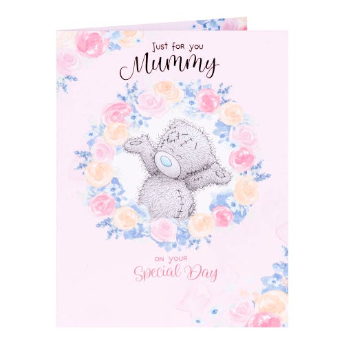 Me To You Ring of Flowers Mummy Mothers Day Card