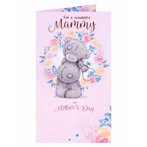 Mammy Ring of Flowers Me To You Mothers Day Card