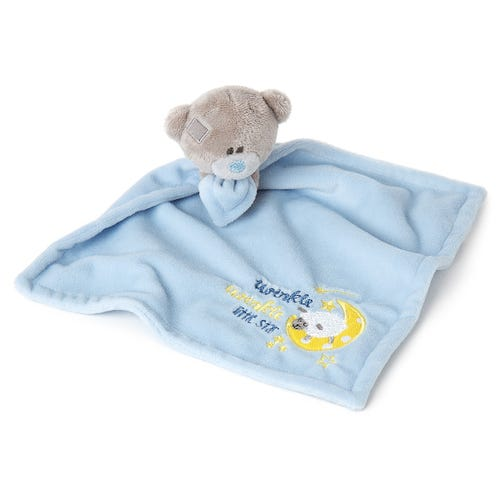 Tiny Tatty Teddy Twinkle Twinkle Blue Baby Comforter