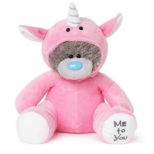 Pink Unicorn Tatty Teddy