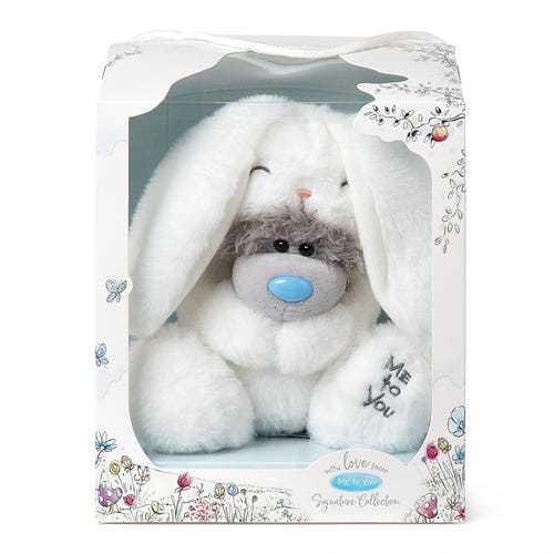 Signature White Rabbit Tatty Teddy