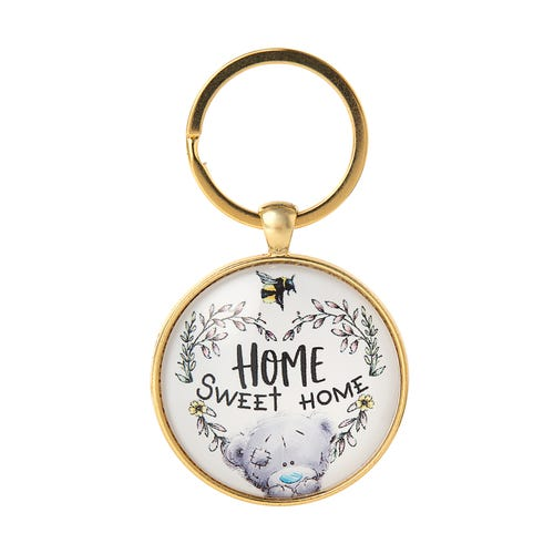 Me to You Home Sweet Home Glass Key Ring