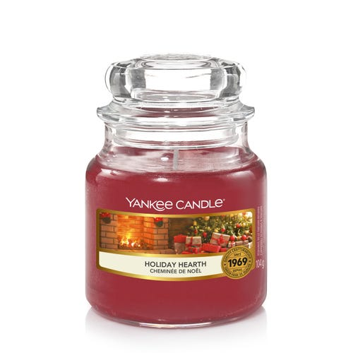 SMALL JAR HOLIDAY HEARTH